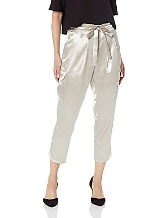 Ramy Brook Womens Pocket Allyn Gold Cargo Pant, Large