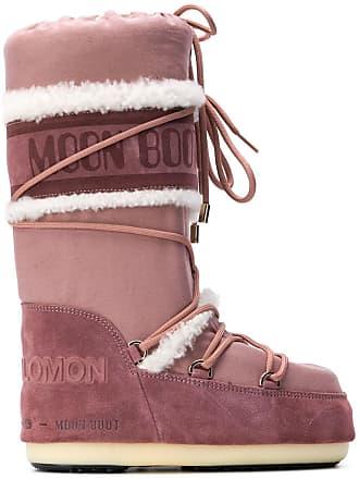 Yves Salomon mid-calf ski boots - Rosa