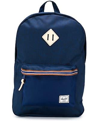 Herschel Heritage striped trim backpack - Azul