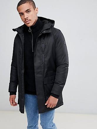b65cc7b5a29c Jack   Jones Core - Parka tous temps avec coutures thermocollées - Noir