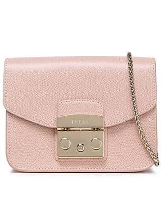 975b01957f98de Furla Furla Woman Pebbled-leather Shoulder Bag Blush Size
