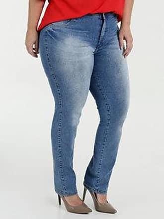 0230e596d Biotipo Calça Feminina Jeans Boot Cut Plus Size Biotipo