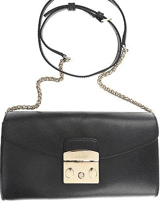 Furla Shoulder Bag for Women On Sale, Black, Leather, 2017, one size