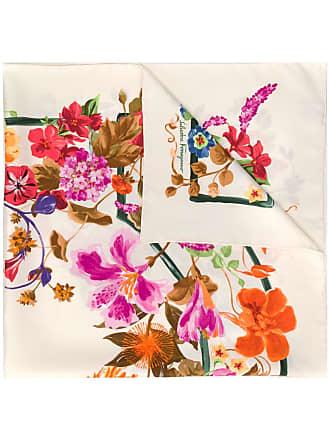 Salvatore Ferragamo floral print square scarf - Neutro