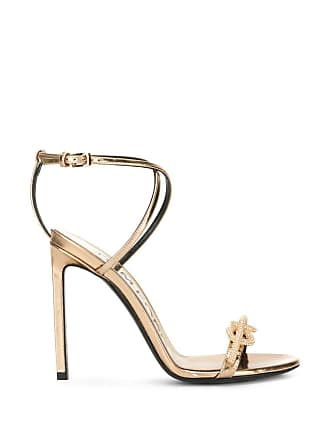 Tom Ford knot-detail sandals - Gold