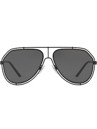 Dolce & Gabbana Eyewear wire aviators - Preto