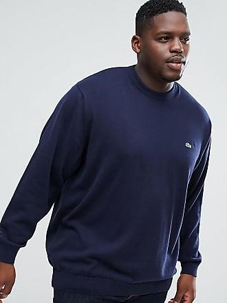 c7ffd59f42e Lacoste Marinblå tröja med rund halsringning - Marinblå