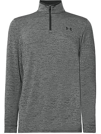 Under Armour Playoff 2.0 Mélange Heatgear Half-zip Golf Top - Dark gray