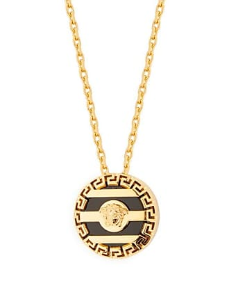 Versace Medusa Charm Necklace - Mens - Gold