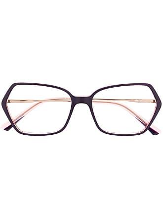 Etnia Barcelona Armação de óculos oversized - Rosa