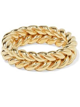 Laura Lombardi + Net Sustain Grana Gold-tone Ring