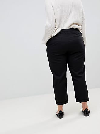 067aac808e6a8 Asos Curve ASOS Design Curve chino pants in black - Black