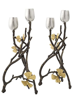 Michael Aram Butterfly Ginkgo Candle Holders - Set of 2