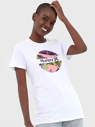 Hurley Camiseta Hurley Crush Orchid Branca