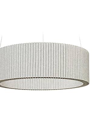 Hey-Sign Welle Deckenobjekt S Ø80cm - marmorgrau/Filz in 3mm Stärke/höhenverstellbar/inkl. Aufhängevorrichtung