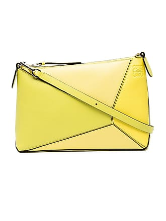 Loewe Yellow Yellow Puzzle Mini Bag - The Webster