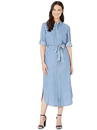 e26c80a911259 Ralph Lauren Denim Shirtdress (Fair Winds Wash) Womens Dress