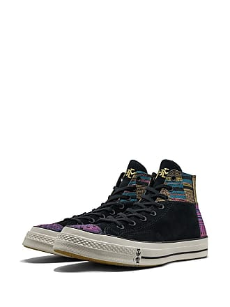 Converse Chuck Taylor All-Star 70s Hi Patchwork BHM sneakers - Black