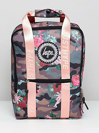 57d4bae0943b Hype Camo Pink Floral Boxy Backpack