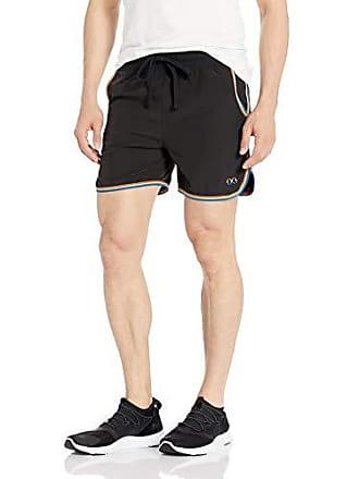 2(x)ist Mens Pride Short with Pockets Shorts, Black/Rainbow - 00101, Medium
