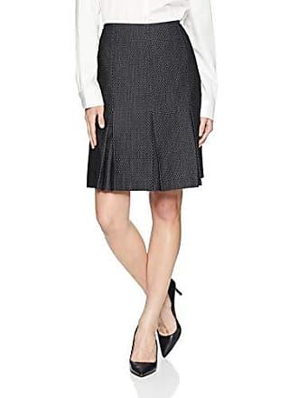 e0bde72414 Kasper Womens Petite PIN DOT Pleated Flare Skirt, Black/Multi, 10P