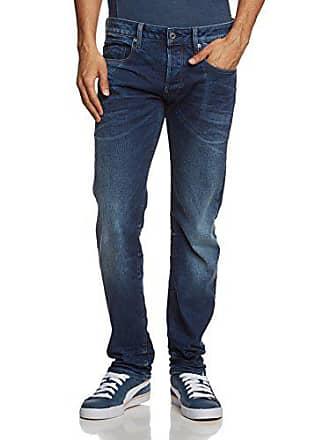 G-Star Mens Attacc Straight Leg Jean In Selekt Stretch Denim Medium Aged, Medium Aged, 30x32