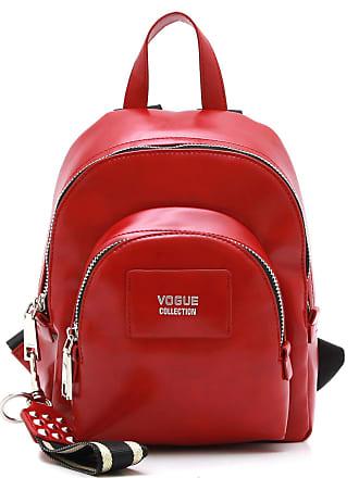 Vogue Mochila Vogue Logo Vermelha