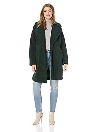 Kendall + Kylie Womens Single Breasted Coat, Jade, X-Large