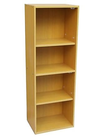 ORE Ore International 4-Tier Adjustable Book Shelf