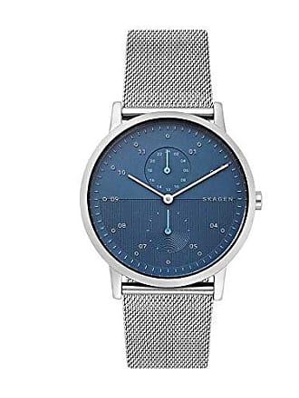 Skagen Relógio Masculino Skagen Ref: Skw6500/1kn Steel Mesh Azul