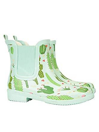af93d98ff23f5d Mountain Warehouse Damen Stiefeletten aus Gummi - Wasserdichte Regenschuhe
