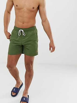 f0892f7160 Polo Ralph Lauren Traveler swim shorts with polo player in khaki