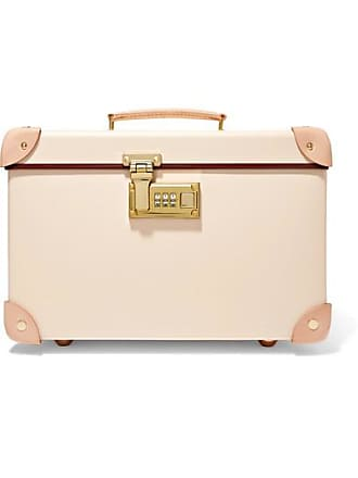 Globetrotter Safari 13 Leather-trimmed Fiberboard Vanity Case - Cream