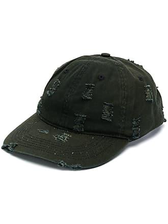 032c distressed baseball cap - Green