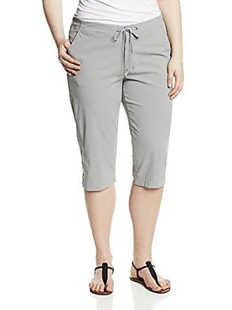 9d70a8e4ee6 Columbia Womens Anytime Outdoor Plus Size Capri Light Grey 24W x 18