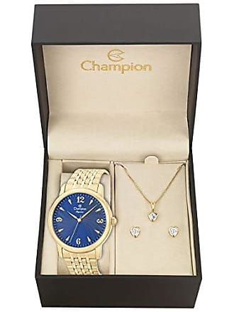 Champion Kit Relogio Champion Feminino CN27992K