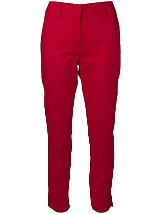 Blumarine tailored cropped trousers - Vermelho