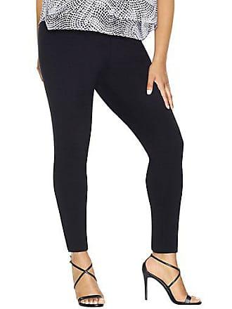 Just My Size Stretch Cotton Womens Leggings Black 2XL