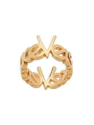 Versace logo wraparound ring - Gold