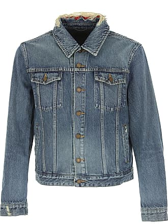 4f02859d6319 Saint Laurent Giacca Uomo On Sale, Denim, Denim, 2017, L M S XL