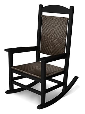 POLYWOOD Presidential Recycled Plastic Woven Rocker