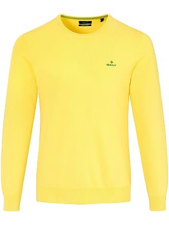 791a639179b791 GANT Round neck pullover GANT yellow