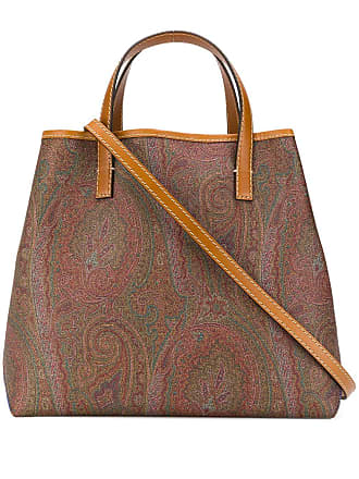 Etro paisley tribe shopping tote - Brown