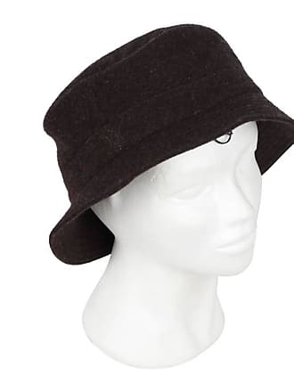 Hermès Hermes Brown Wool   Cashmere Chapeaux Motsch Bucket Hat Size 59 b9006058988c