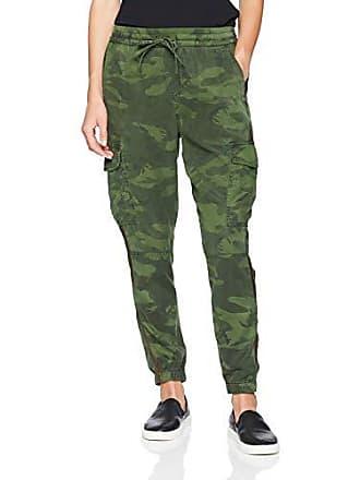 8c75d41781d7d Pam & Gela Womens Bronze Side Stripe CAMO Pant, Army, Large