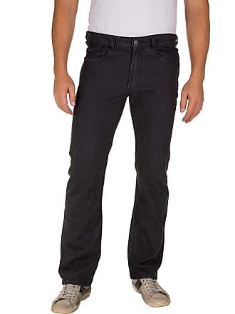 Colombo Calça Jeans Masculina Preta Lisa 49963 Colombo