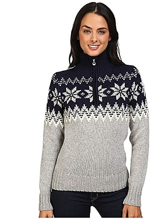Dale of Norway Myking Sweater (Navy/Off-White) Womens Sweater