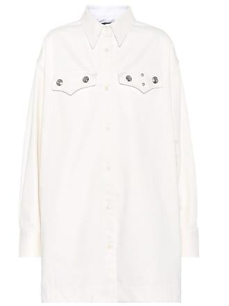 CALVIN KLEIN 205W39NYC Studded cotton shirt