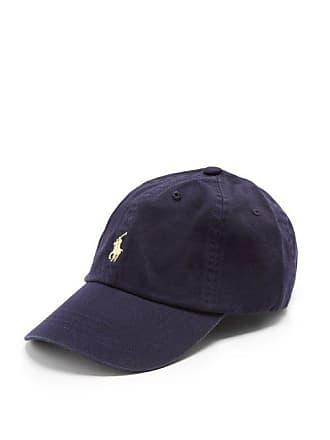 d466712d Polo Ralph Lauren Logo Embroidered Cotton Cap - Mens - Navy