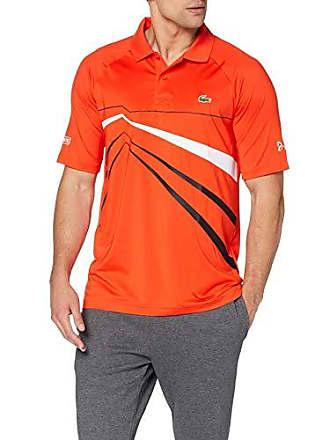 03656e897f Lacoste Sport DH3382 Polo Homme Rouge (Mexico/Noir Blanc 6hh) XXX-Large